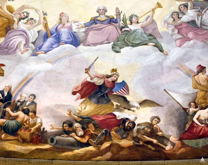 1. Apotheosis of Washington, War