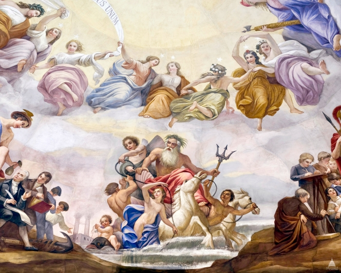 5. Apotheosis of Washington, Marine