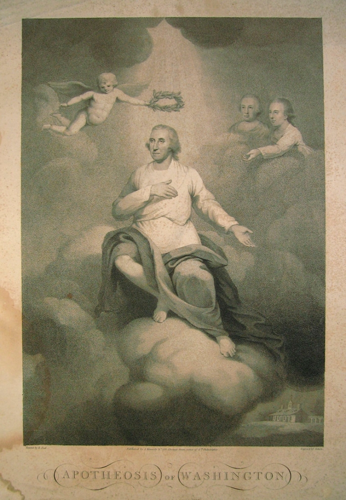 David Edwin, Apotheosis of Washington (1800)